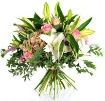 bouquet livraison lys livrer roses fleuriste envoyer