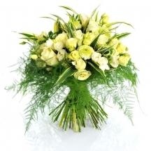 livraison bouquet blanc fleuriste fleurs livrer