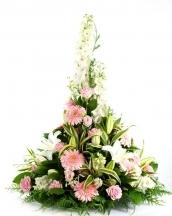 coussin fleurs livraison fleuriste livrer