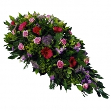 composition funéraire fleurs livraison deuil fleuriste enterrement deposer