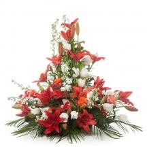 coussin fleurs livraison fleuriste deposer deuil envoyer