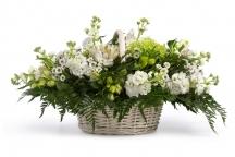 corbeille fleurs obseques livraison deuil livrer envoyer fleuriste livrer